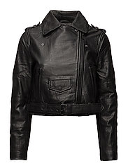 SFBIANCA LEATHER JACKET J
