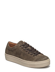 SFDONNA SUEDE NEW SNEAKER - FOREST NIGHT