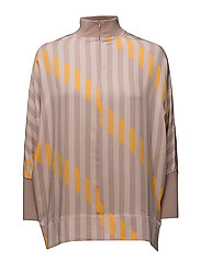 SFELLI OVERSIZE 3/4 TOP - SEPIA ROSE