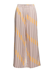 SFELLI WIDE  PANT - SEPIA ROSE