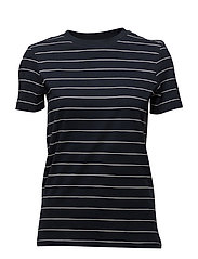 SLFMY PERFECT SS TEE THIN STRIPE NOOS