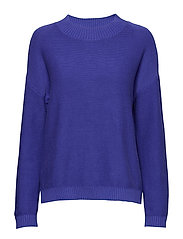 SLFMARGARITE LS KNIT O-NECK - LIBERTY