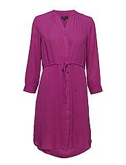 SLFDAMINA 7/8 DRESS - CLOVER