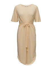 SFIVY 2/4 BEACH DRESS - APRICOT ICE