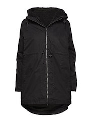 SLFPALLY  PARKA B - BLACK