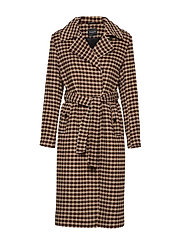 SLFTJEKKA WOOL COAT B - SAND DOLLAR