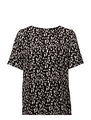 SLFLEOLA SS TOP B - BLACK