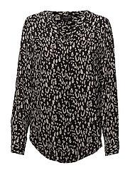 SLFDYNELLA LEO LS SHIRT B - BLACK