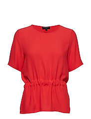 SLFTANNA SS TOP NOOS - POPPY RED
