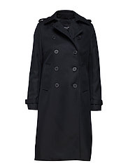 SLFTONA WOOL COAT B - BLACK