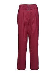 SLFMARGOT HW PANT B - BEET RED
