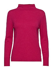 SLFAYA CASHMERE LS KNIT T-NECK B - LOVE POTION