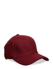 SLFPATTI WOOL CAP B - EARTH RED