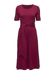 SLFABINE SS DRESS B - BEET RED