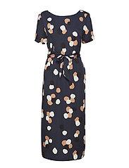SLFFOYLA 2/4 DRESS B - DARK SAPPHIRE