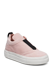 SLFANN SUEDE SLIPON B - HEAVENLY PINK