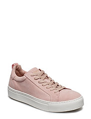 SLFDONNA SUEDE TRAINER B - HEAVENLY PINK