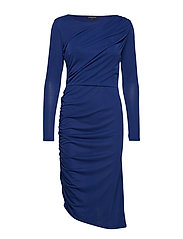 SLFHELEN LS DRESS B - BLUE DEPTHS