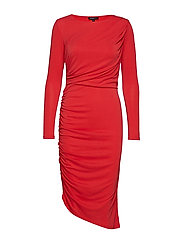 SLFHELEN LS DRESS B - TRUE RED