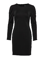SLFGETH 3/4 DRESS B - BLACK