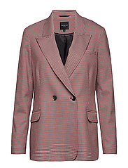SLFBEATRICE LS DOUBLE BREASTED BLAZER B - TRUE RED