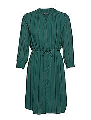SLFDAMINA 7/8 AOP DRESS B - PONDEROSA PINE