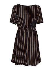 SLFALESSA 2/4 SHORT  DRESS B - BLACK