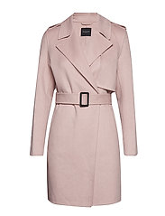 SLFTANA SHORT COAT B - ROSE DUST