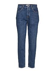 Slffrida Hw Mom Inky Blue Jeans W