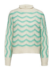 SLFMAGGIE LS KNIT BOATNECK B - BIRCH