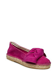 SLFMARIE SUEDE BOW ESPADRILLES B - CLOVER