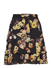 SLFYILA MW SKIRT EX - BLACK