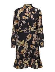 SLFYILA LS DRESS EX - BLACK