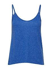 SLFIVY V-NECK STRAP TOP B - DAZZLING BLUE
