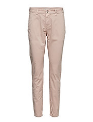SLFMEGAN MW CHINO NOOS W - ADOBE ROSE
