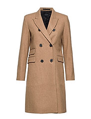 SLFBINA WOOL COAT B CAMP - AMPHORA
