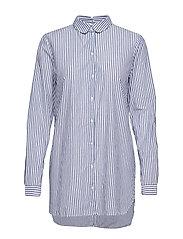 Slfcassy Ls Long Shirt W Langermet Skjorte Blå SELECTED FEMME