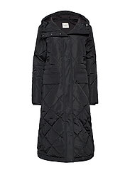 SLFHIMA COAT W - BLACK