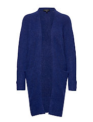 SLFLANNA LS KNIT CARDIGAN NOOS - CLEMATIS BLUE