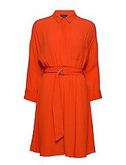 SLFEMERY-VIENNA 7/8 SHORT DRESS B - ORANGE.COM