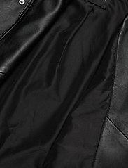 Selected Femme - SLFKATIE LEATHER JACKET B NOOS - skinnjackor - black - 5