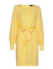 SLFSTALL-LUPITA LS DRESS EX - SUNSHINE