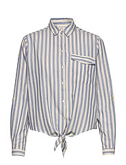 SLFZENIA LS SHIRT W - COUNTRY BLUE