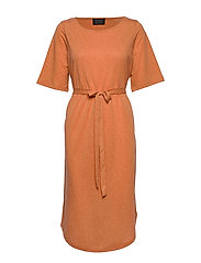 SLFIVY 2/4 BEACH DRESS B - CARAMEL