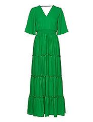SLFRAYA 2/4 MAXI DRESS B - BRIGHT GREEN