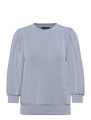 SLFTENNY 3/4 SWEAT - COUNTRY BLUE