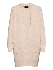 SLFLULU LS KNIT LONG CARDIGAN - BIRCH
