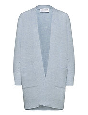 SLFLULU LS KNIT LONG CARDIGAN - CASHMERE BLUE