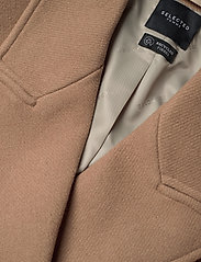 Selected Femme - SLFSASSY WOOL COAT B - wool coats - tigers eye - 2