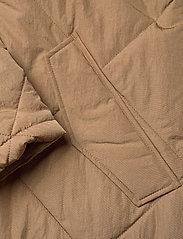 Selected Femme - SLFMARAN PADDED COAT B - padded coats - tigers eye - 4